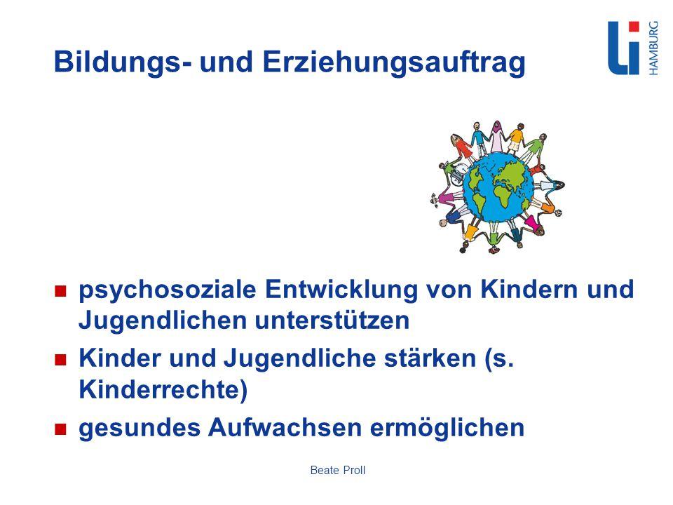 Bildungs- und Erziehungsauftrag