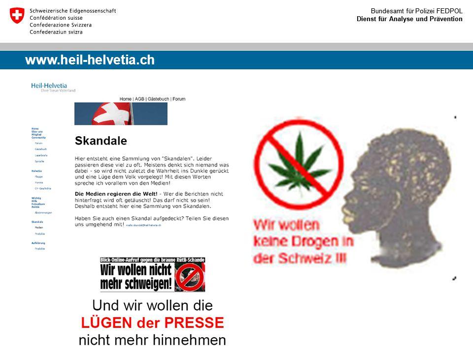 www.heil-helvetia.ch Eidgenössisches Justiz- und Polizeidepartment (EJPD)