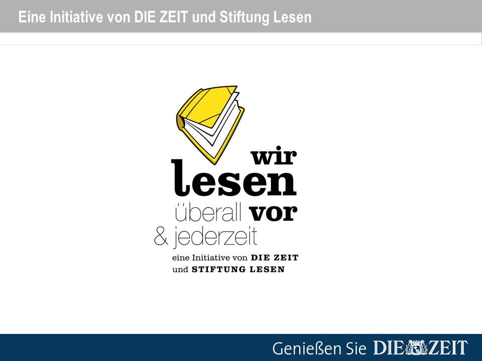 Eine Initiative von DIE ZEIT und Stiftung Lesen