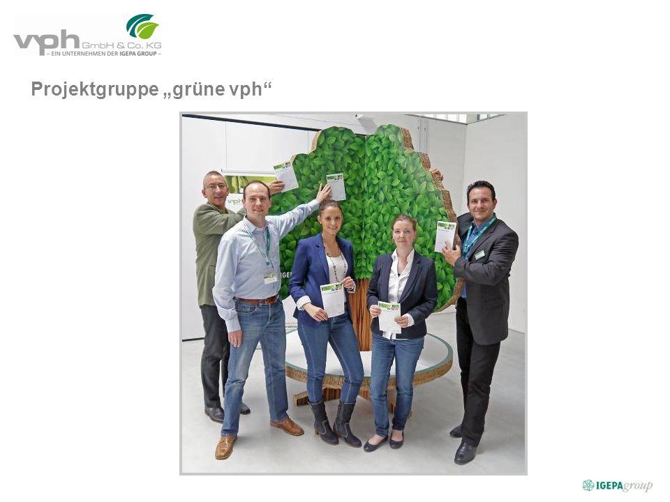 "Projektgruppe ""grüne vph"