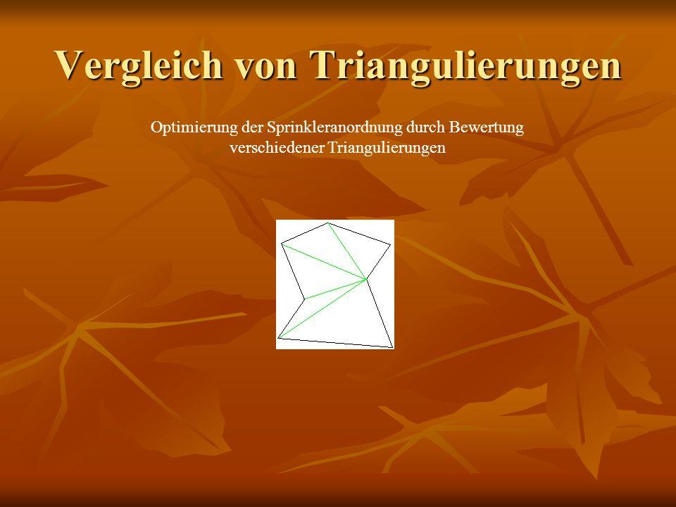 Vergleich von Triangulierungen