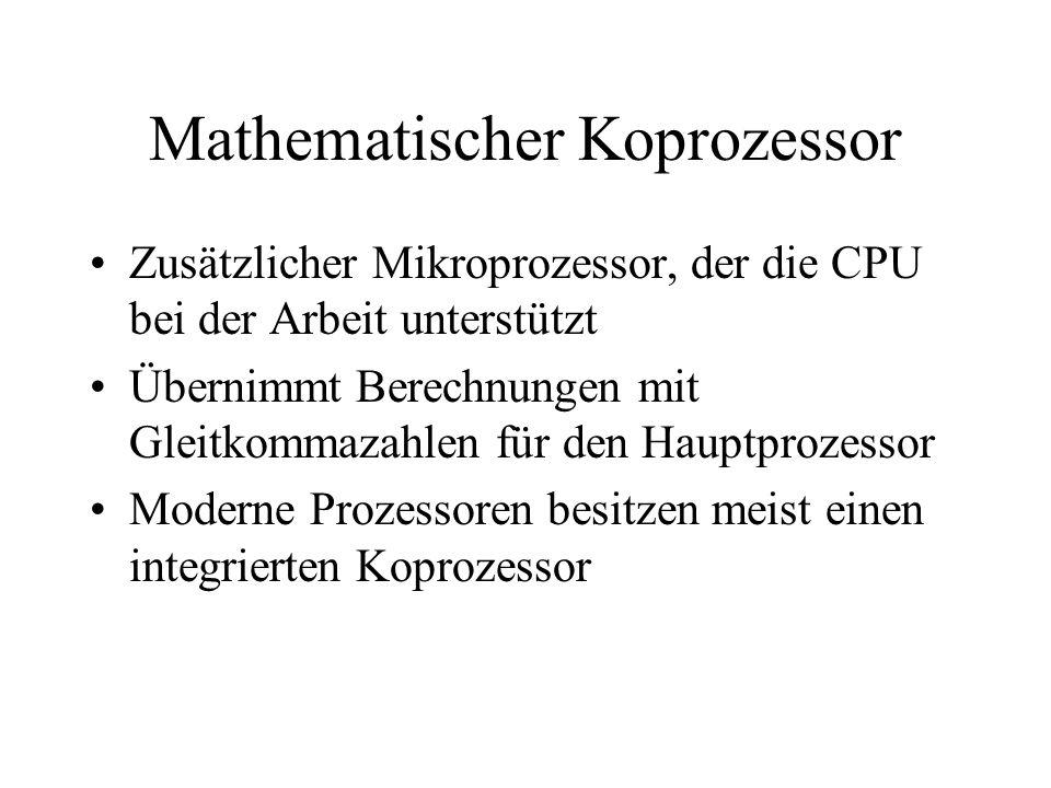 Mathematischer Koprozessor