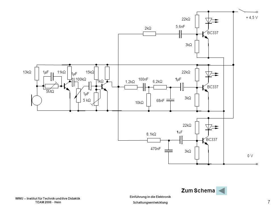 Zum Schema 22k 3k BC337 + 4,5 V 0 V 5,6nF 6,2k 10k 8,1k 68nF
