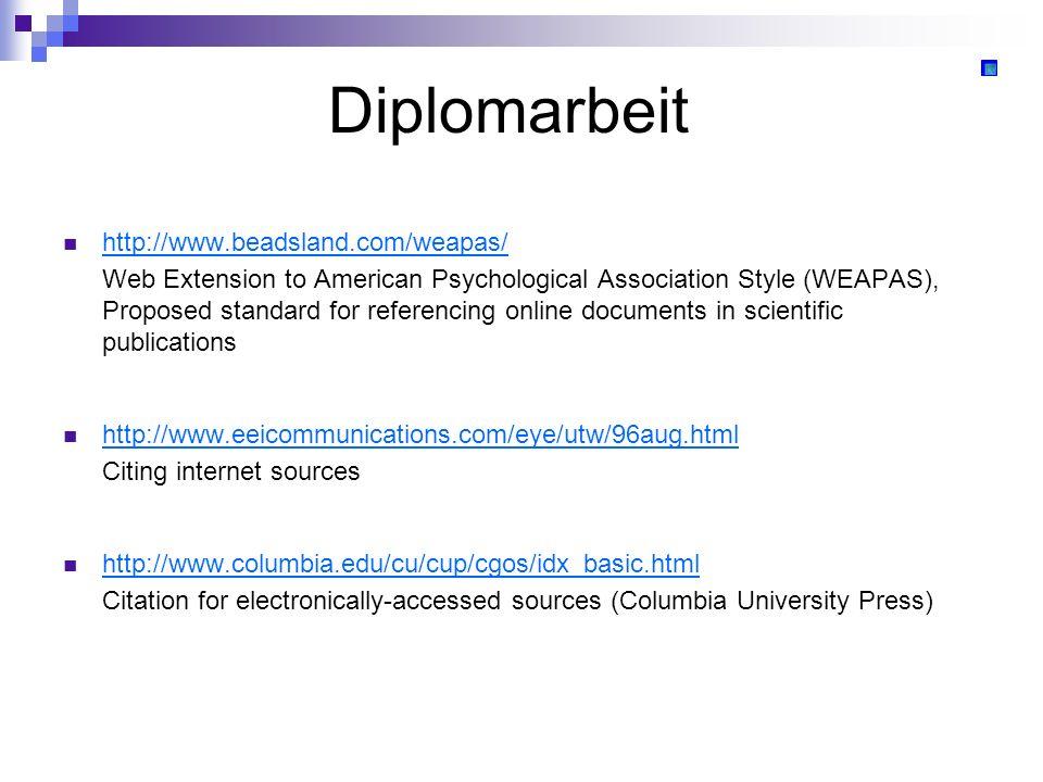 Diplomarbeit http://www.beadsland.com/weapas/