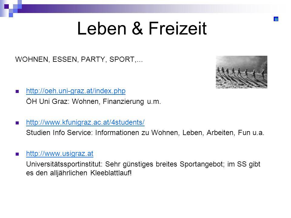 Leben & Freizeit WOHNEN, ESSEN, PARTY, SPORT,...