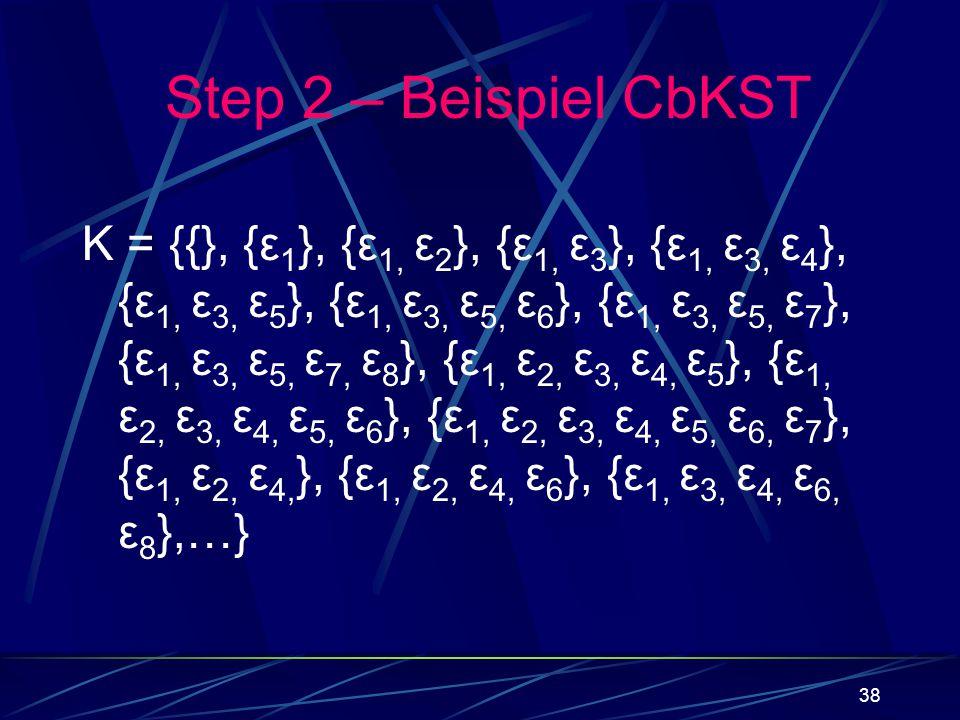 Step 2 – Beispiel CbKST