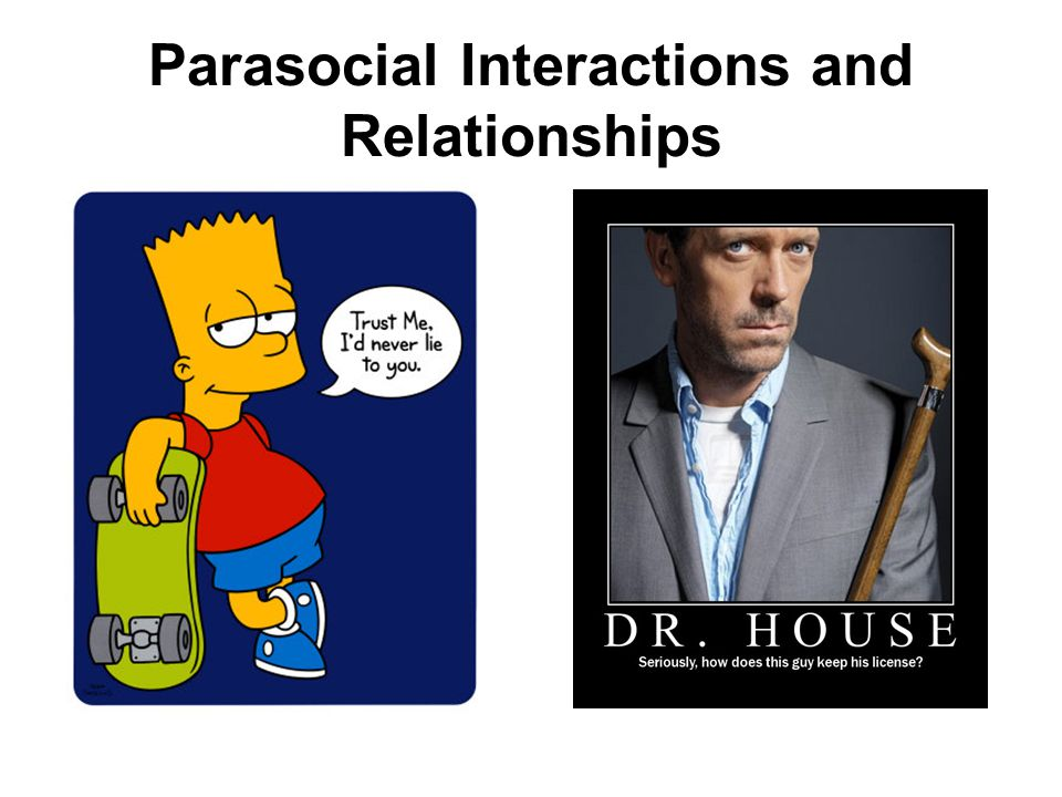 Parasocial Interactions and Relationships