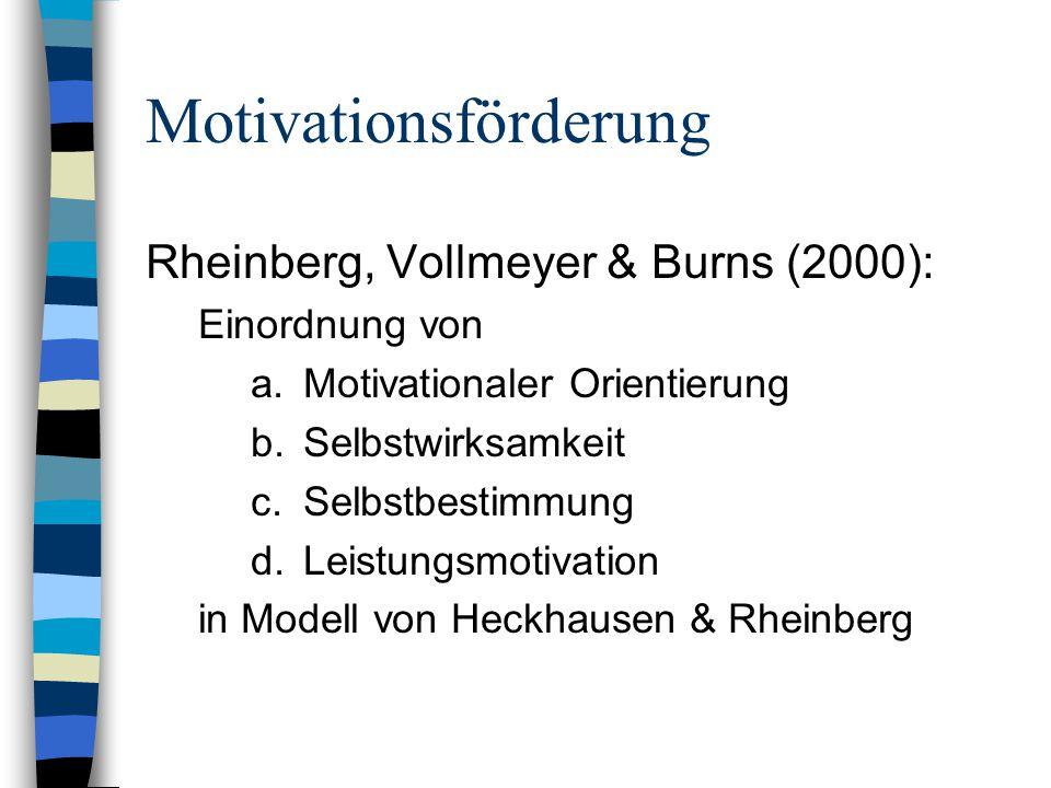 Motivationsförderung