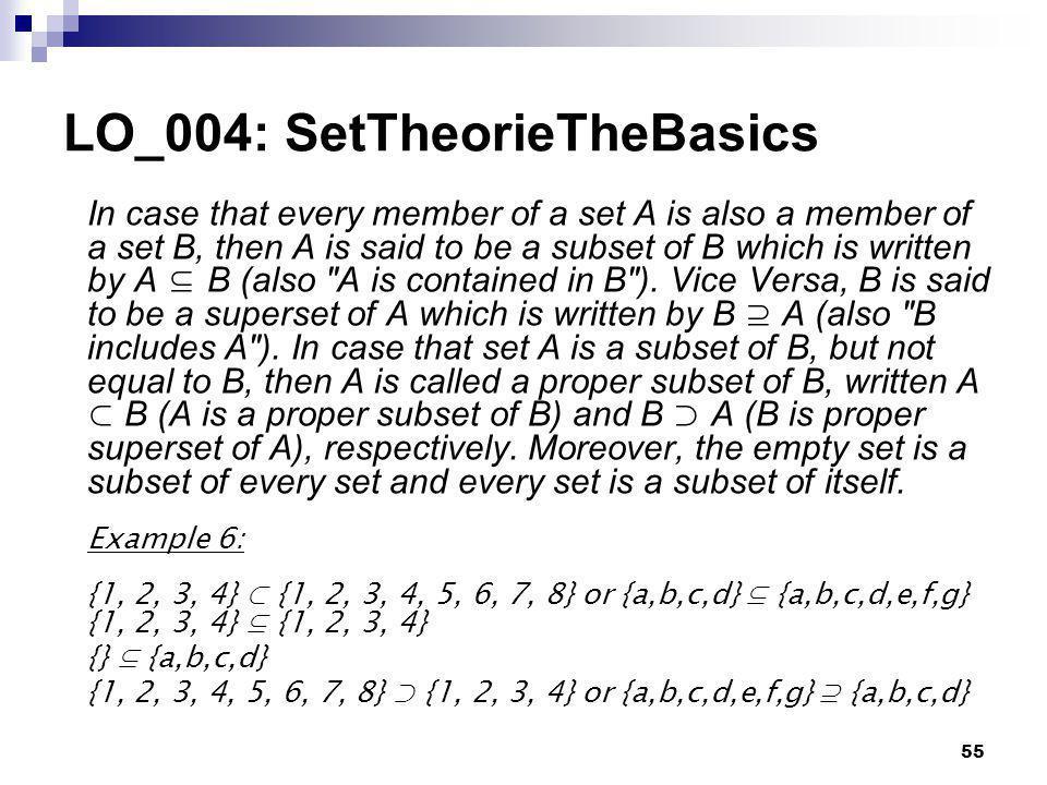 LO_004: SetTheorieTheBasics