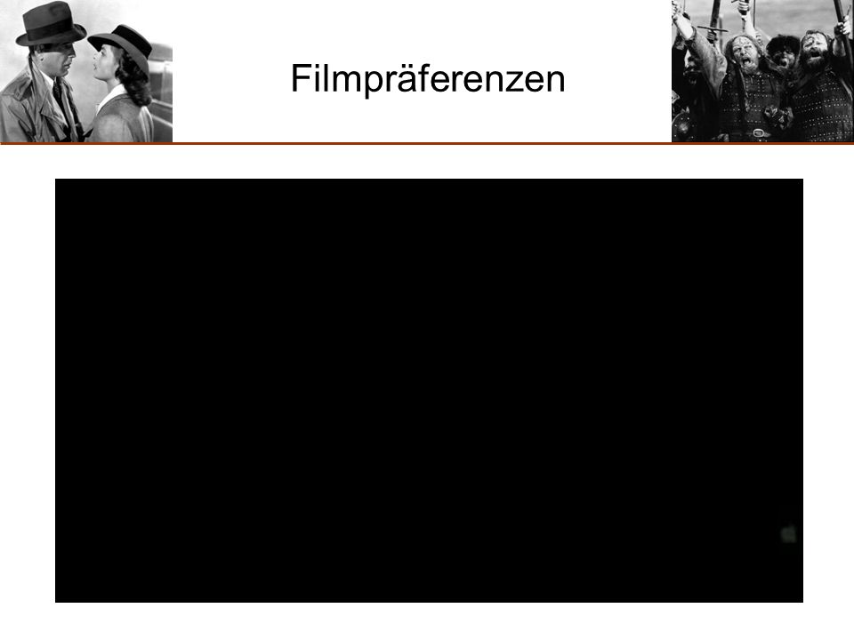Filmpräferenzen (Video 2)