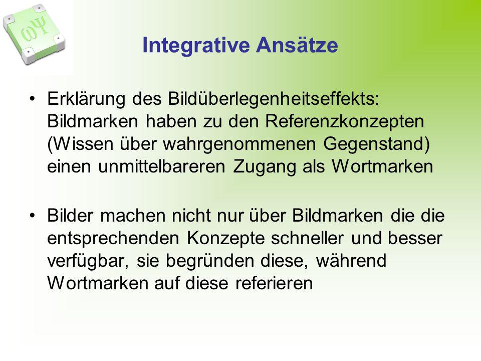Integrative Ansätze