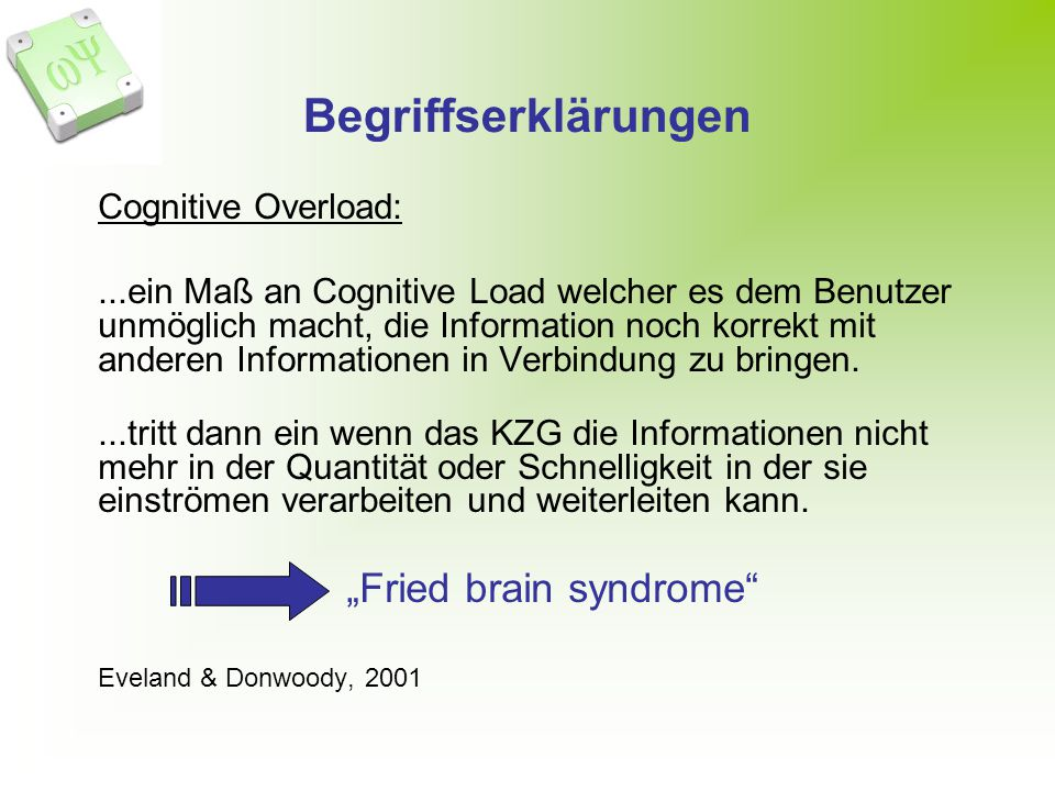 """Fried brain syndrome"