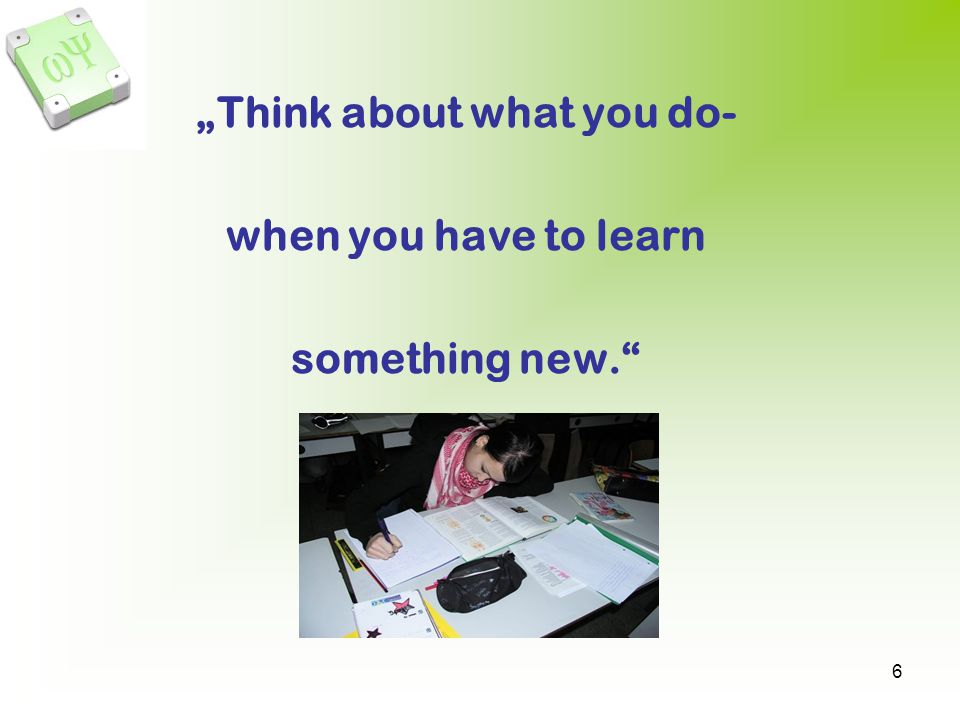 """Think about what you do-"