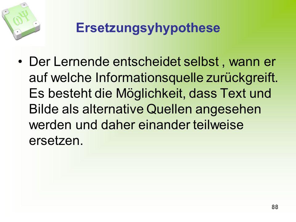 Ersetzungsyhypothese