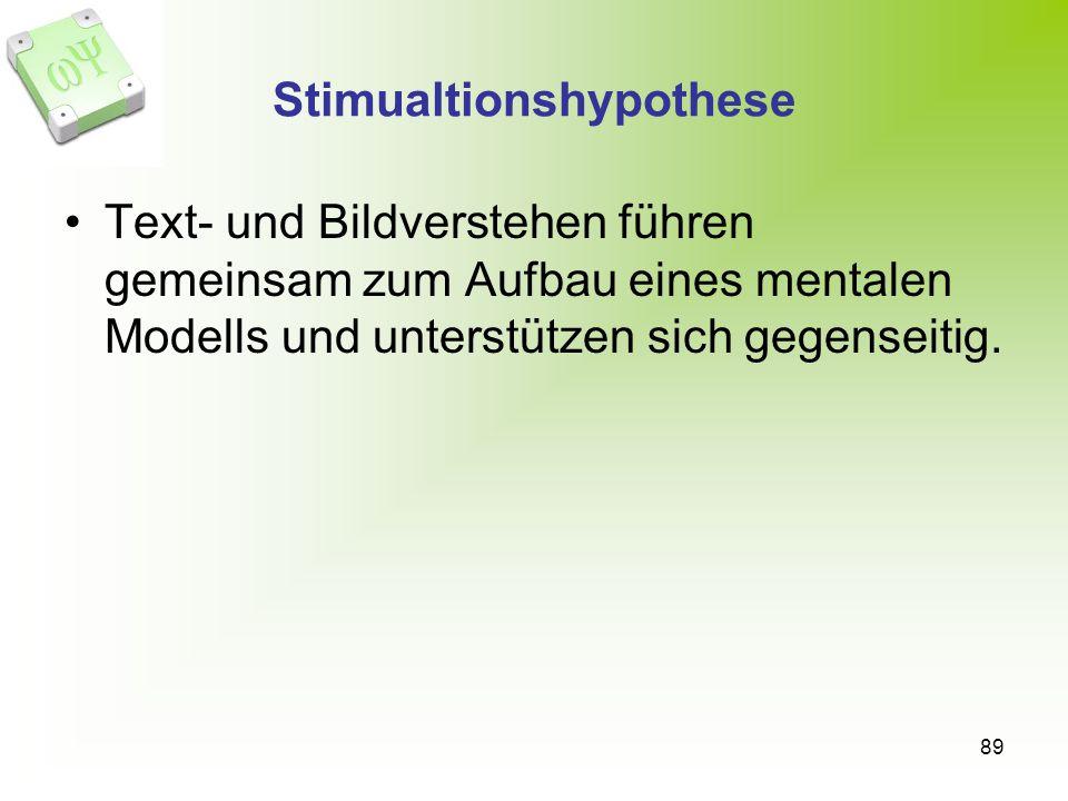 Stimualtionshypothese