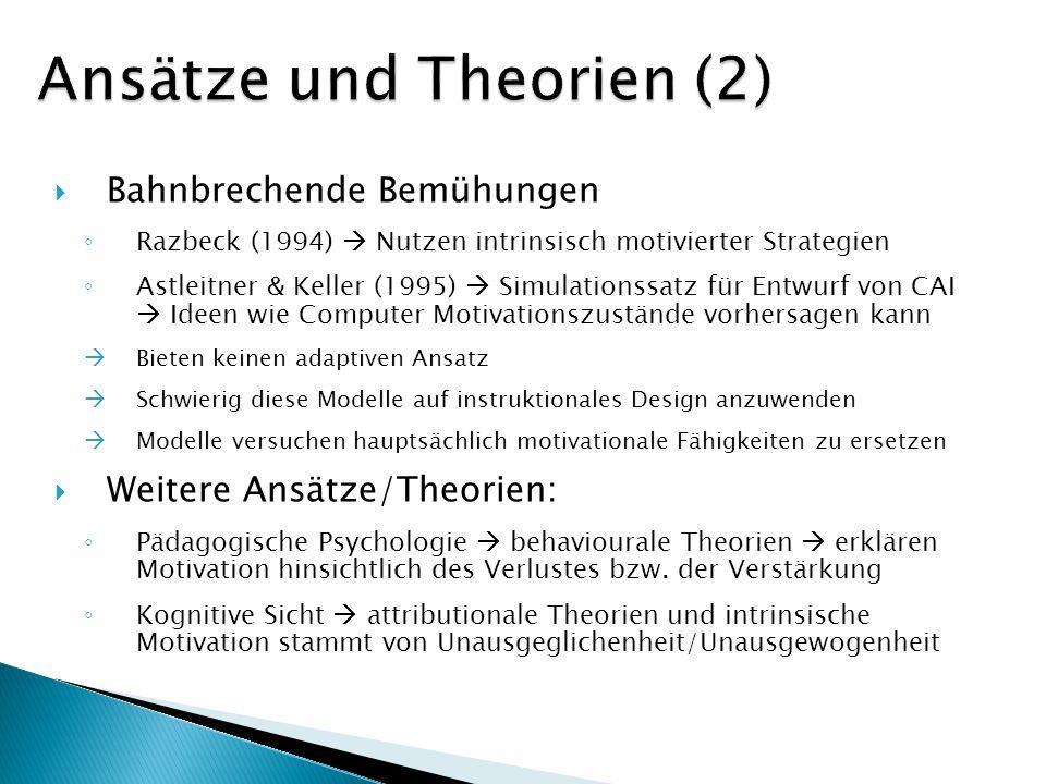 Ansätze und Theorien (2)