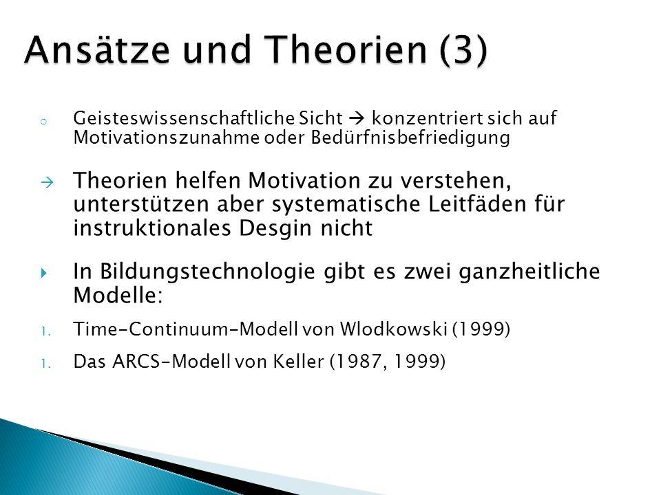 Ansätze und Theorien (3)