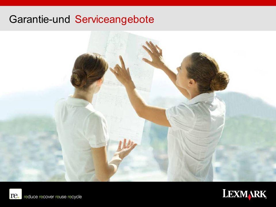 Garantie-und Serviceangebote