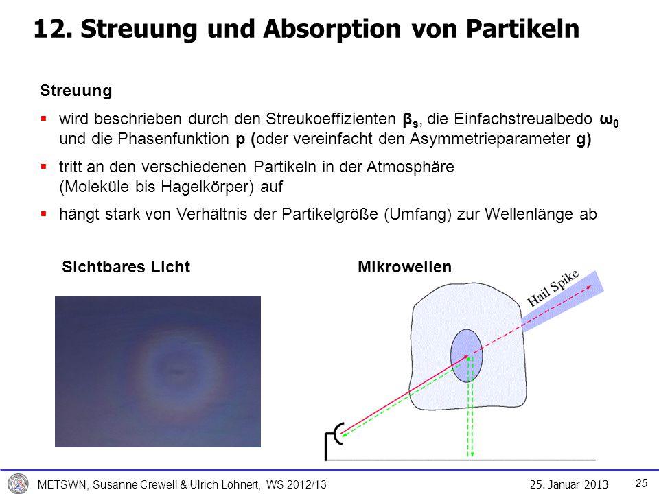 12. Streuung und Absorption von Partikeln