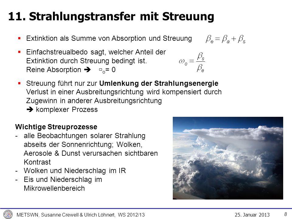 11. Strahlungstransfer mit Streuung