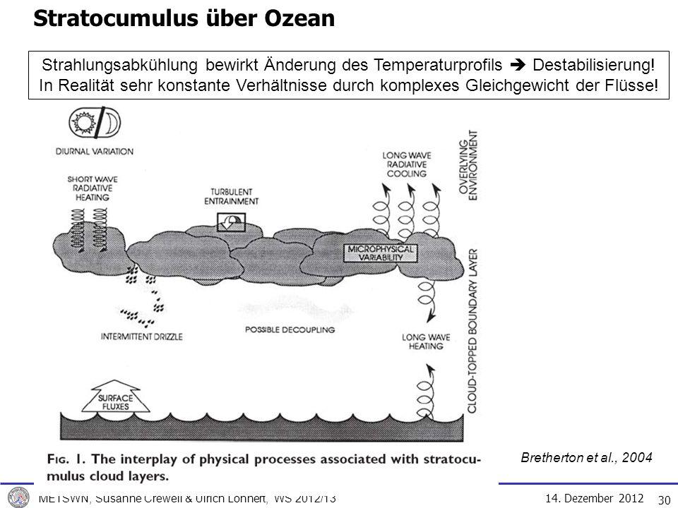 Stratocumulus über Ozean