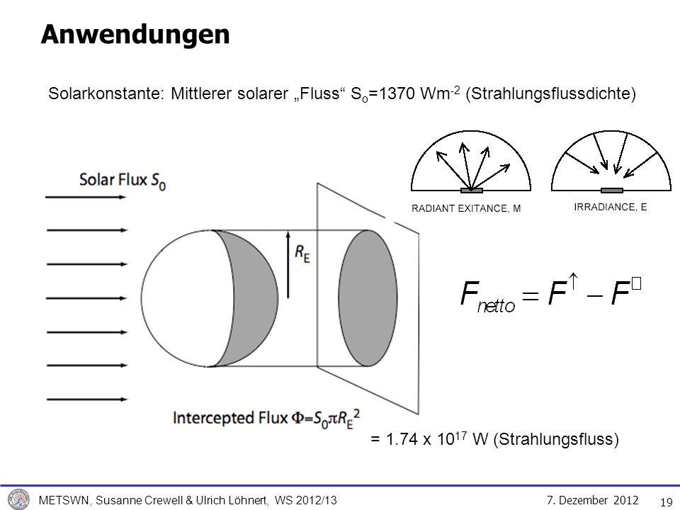 = 1.74 x 1017 W (Strahlungsfluss)