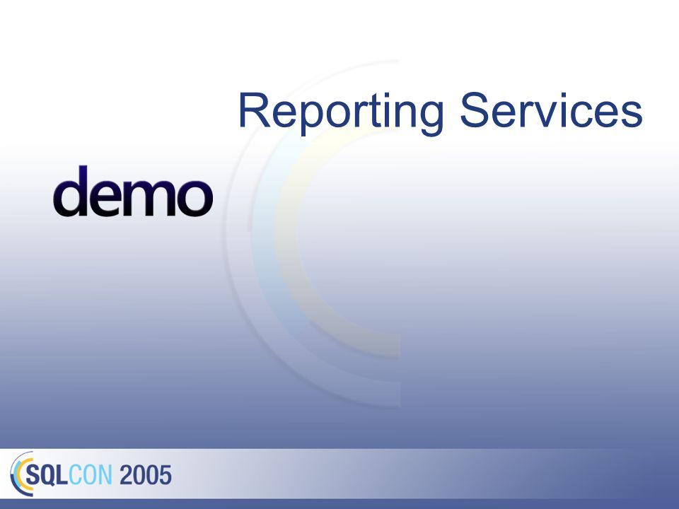 Mehr zu Reporting Services
