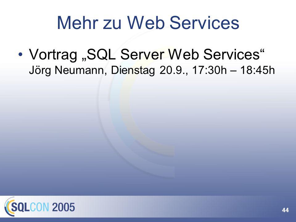 Zusammengefasst XML Web Services Eigener Datentyp mit XQuery Support