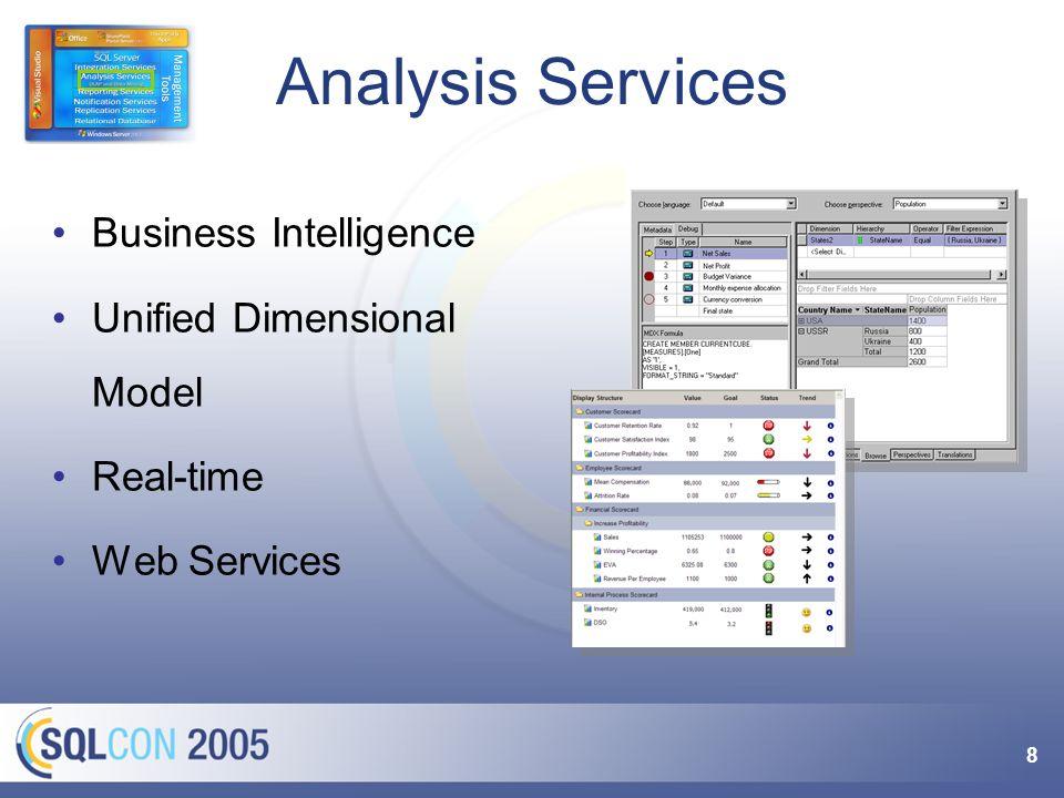 Mehr zu Analysis Services