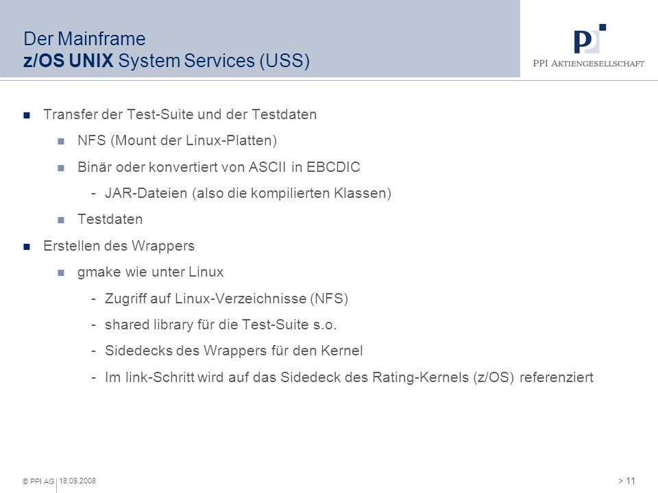 Der Mainframe TSO (Time-Sharing Option)