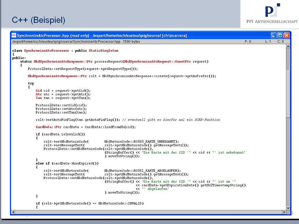 Lua (1) Grundlagen/Vorteile Einfache Scriptsprache Kleines C-Programm