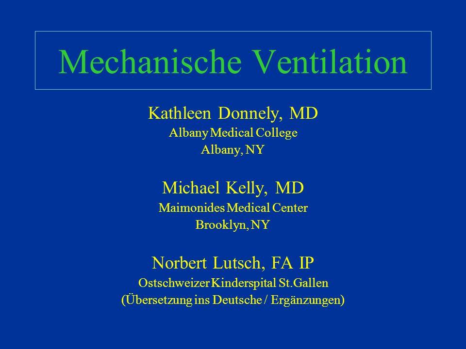 Mechanische Ventilation