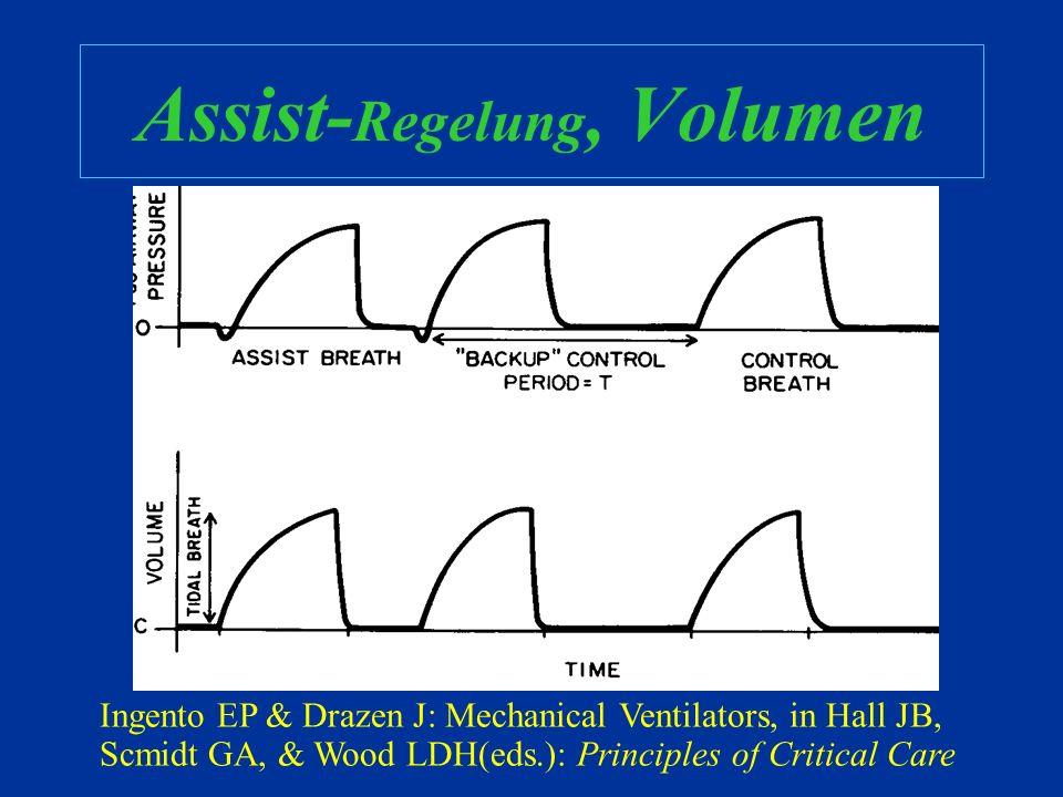 Assist-Regelung, Volumen