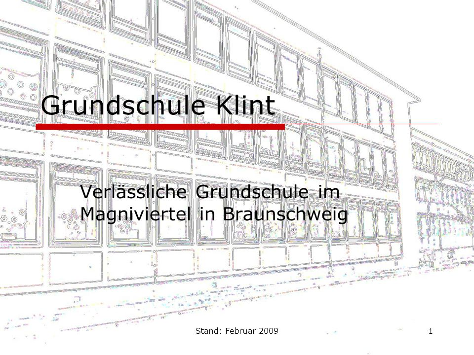 Verlässliche Grundschule im Magniviertel in Braunschweig
