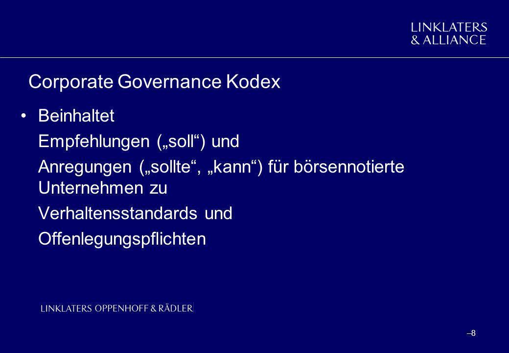 Corporate Governance Kodex