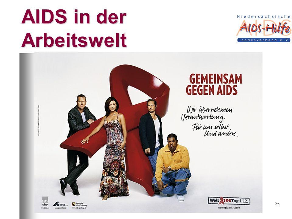AIDS in der Arbeitswelt