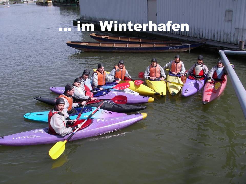 … im Winterhafen