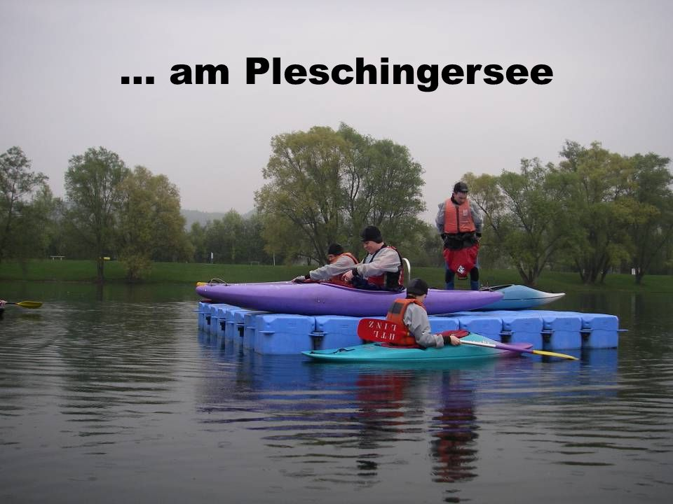 … am Pleschingersee