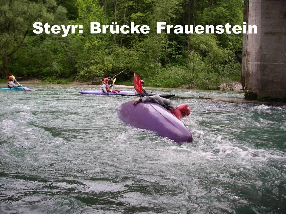 Steyr: Brücke Frauenstein