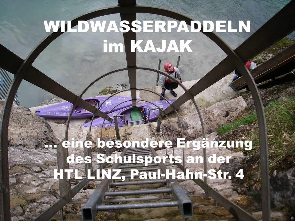 WILDWASSERPADDELN im KAJAK