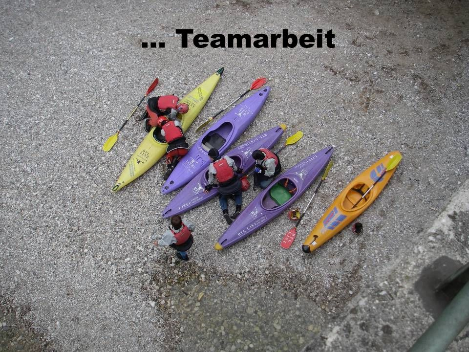 … Teamarbeit
