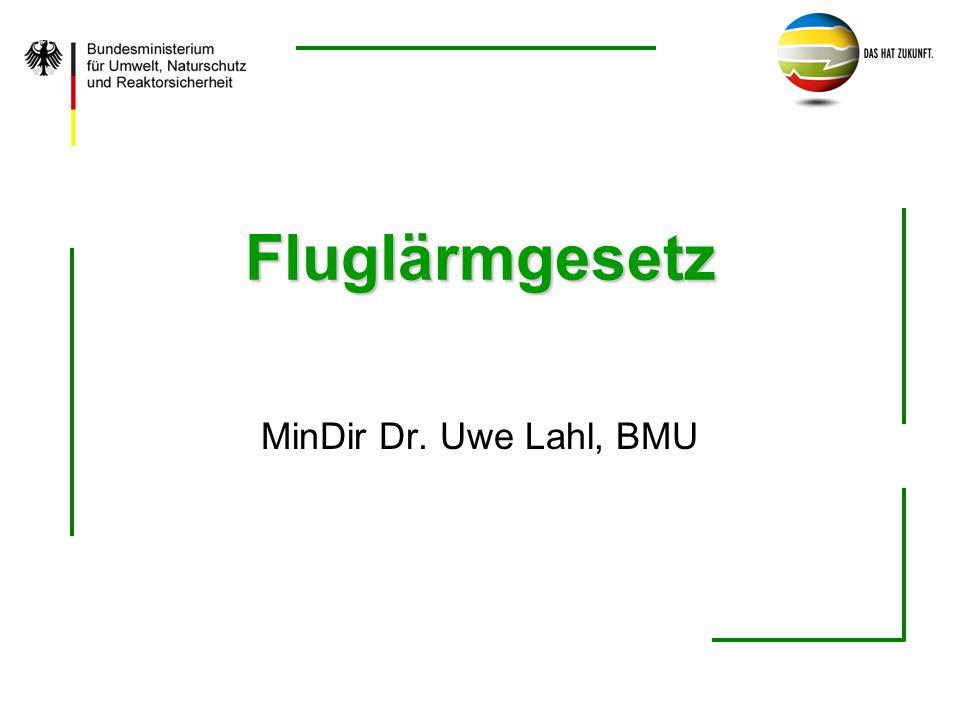 Fluglärmgesetz MinDir Dr. Uwe Lahl, BMU
