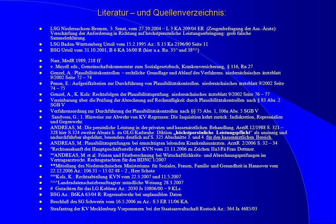 Literatur – und Quellenverzeichnis:
