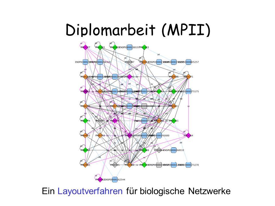 Ein Layoutverfahren für biologische Netzwerke