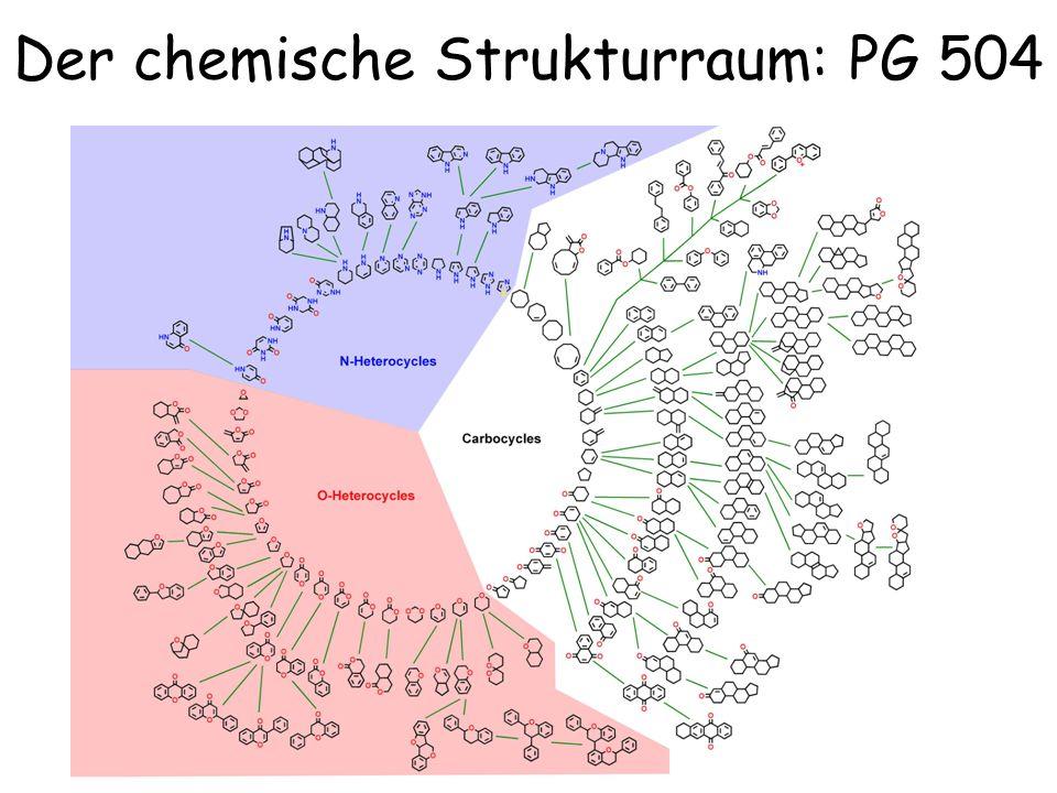 Der chemische Strukturraum: PG 504