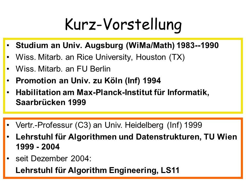 Kurz-Vorstellung Studium an Univ. Augsburg (WiMa/Math) 1983--1990