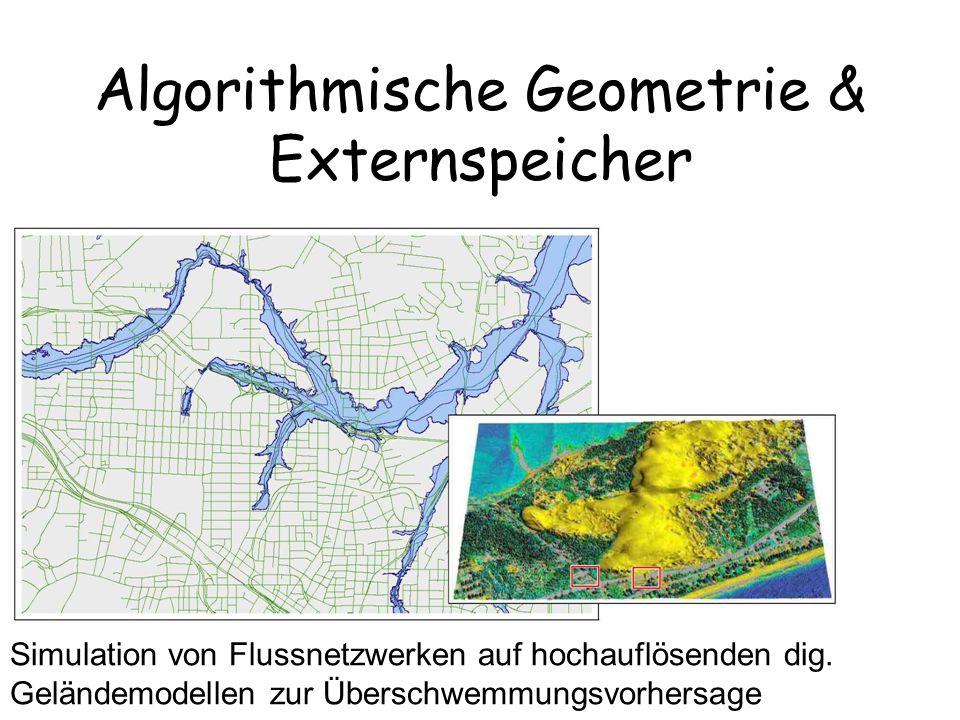 Algorithmische Geometrie & Externspeicher