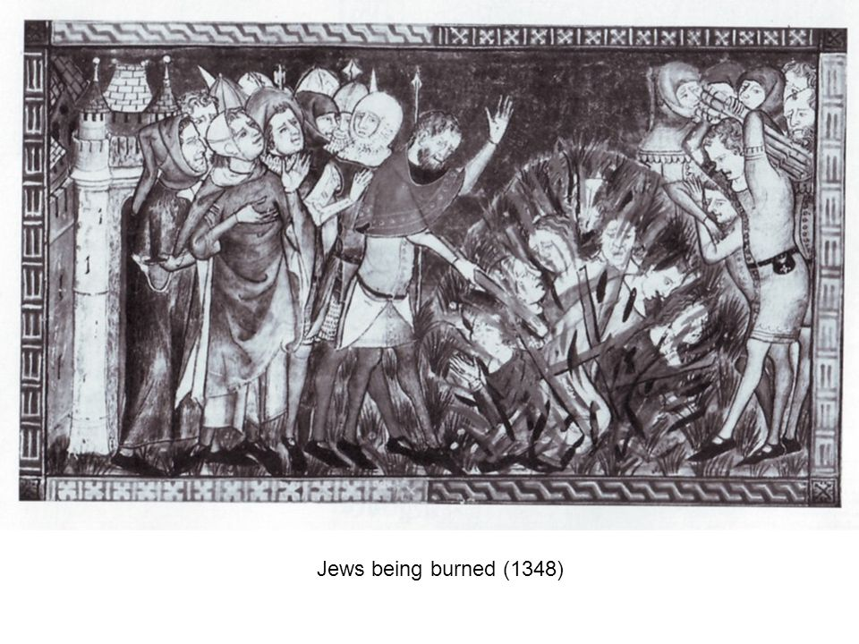 Jews being burned (1348)