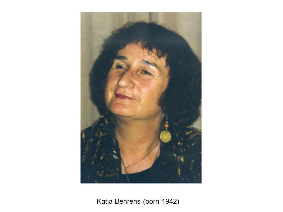 Katja Behrens (born 1942)