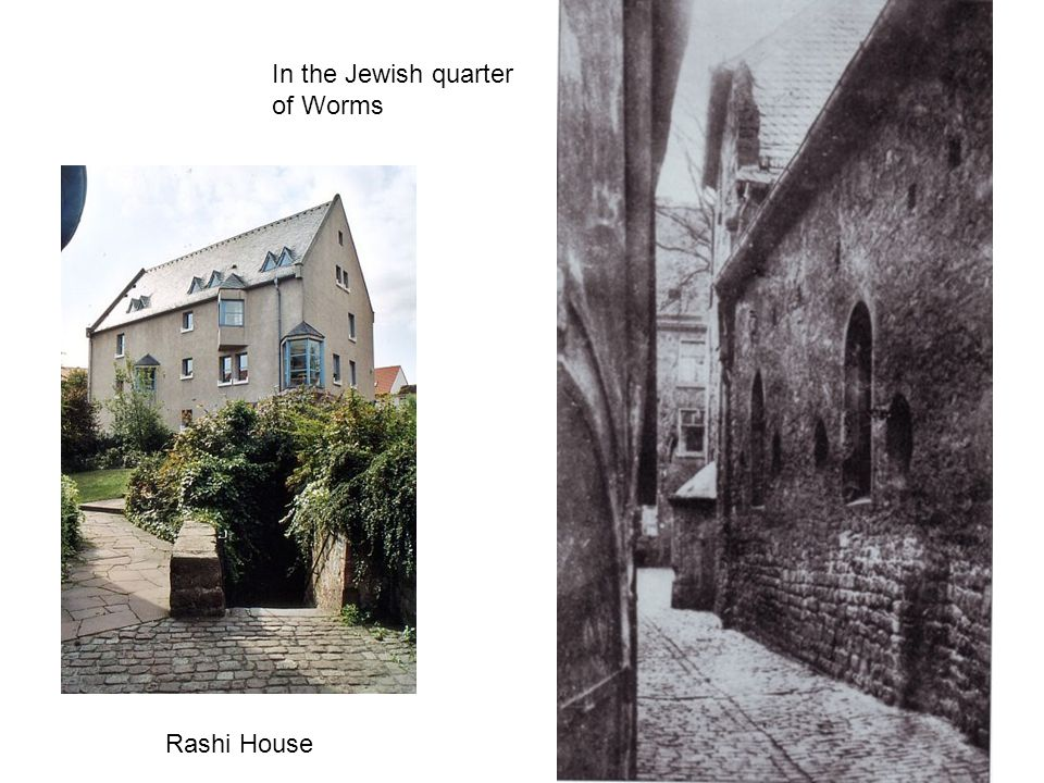 In the Jewish quarter of Worms